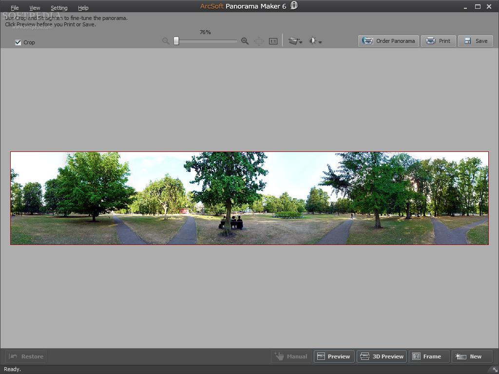 arcsoft panorama maker 6 has stopped working