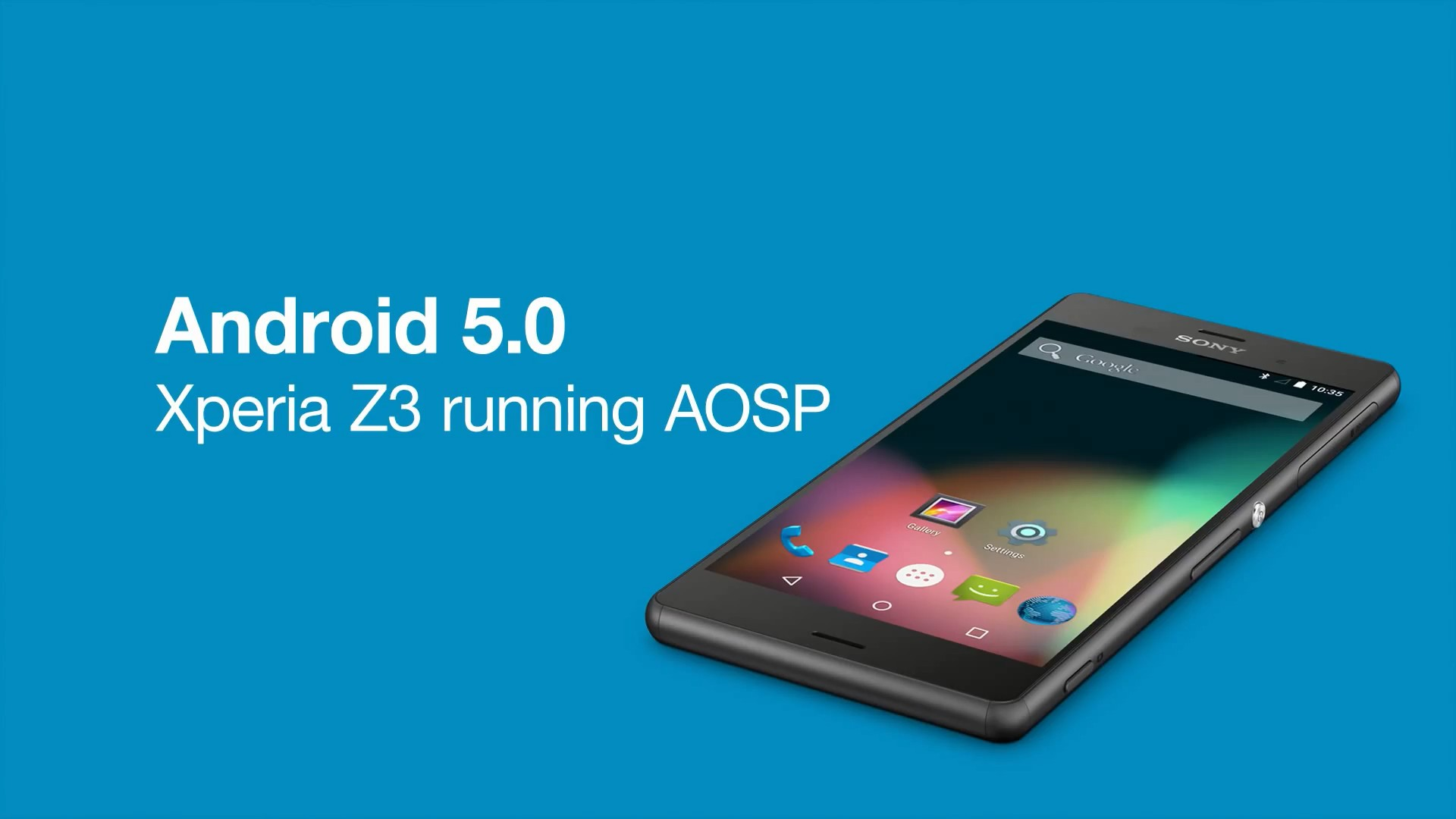 Sony Releases AOSP Source Code and Binaries for Xperia Z3, Z2 and Z1