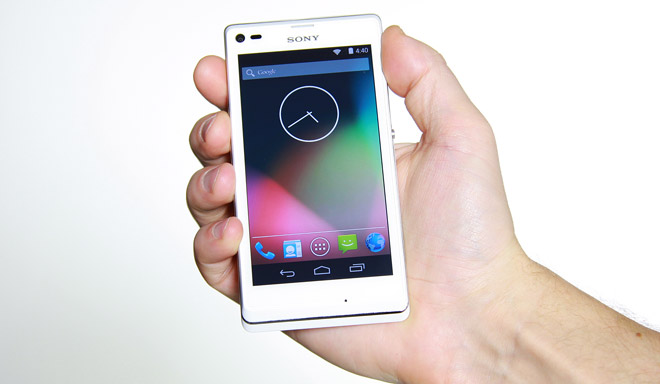 Sony Releases Xperia L Code in AOSP