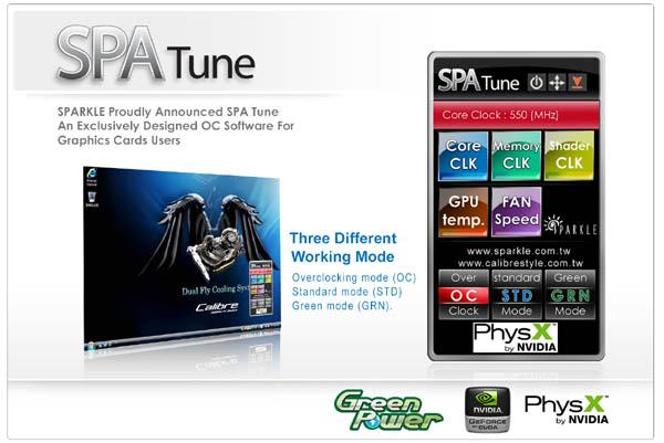 Sparkle Adds GeForce Overclocking Utility
