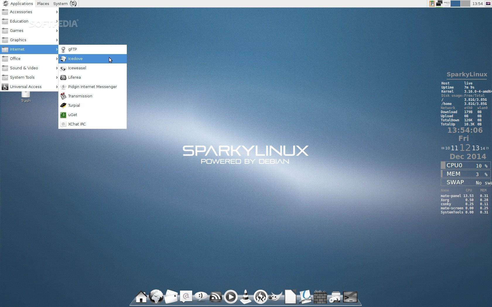 SparkyLinux 3 6