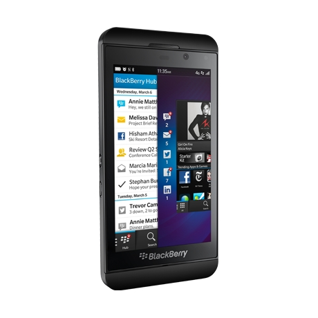 Sprint to Launch All-Touch BlackBerry Z10 Successor Later