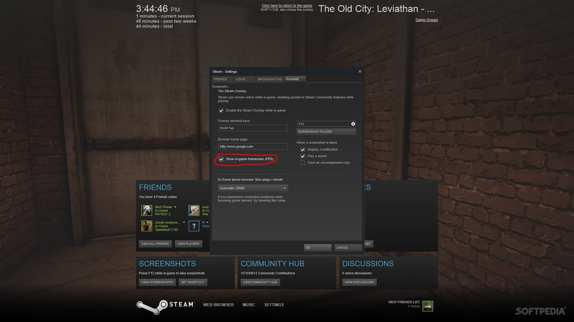 Steam Beta Update Adds FPS Counter to Overlay, Improved