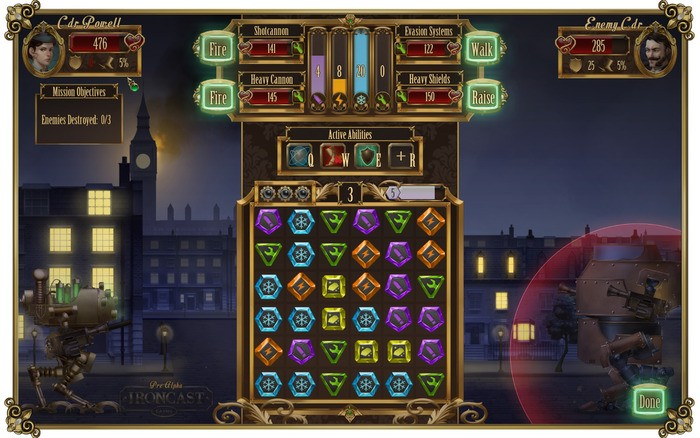 Steampunk Tactical Puzzle Game Ironcast Is Coming to Steam