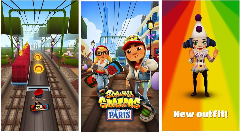 all new subway surfers