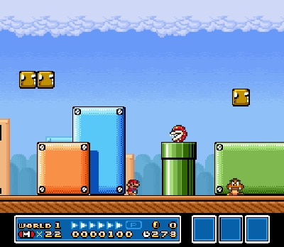 super mario bros 3 nes screenshot