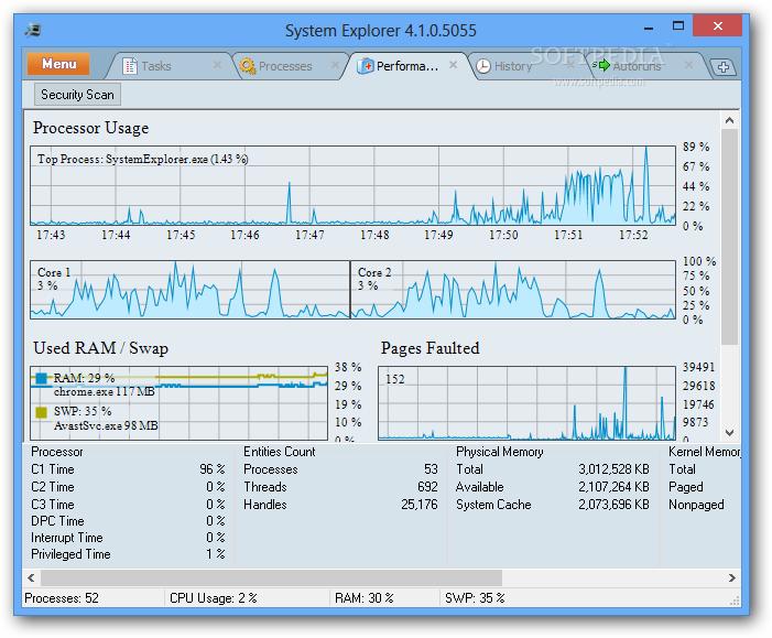 System Explorer – An Alternative to Task Manager