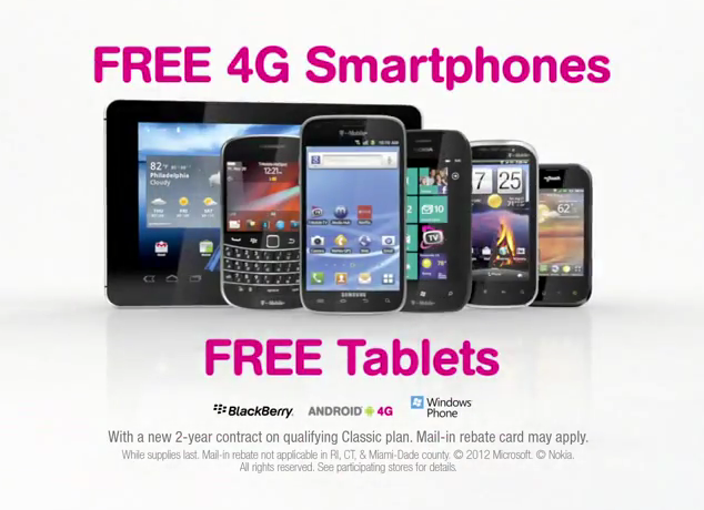 T-Mobile Announces All Phones Free on February 11th