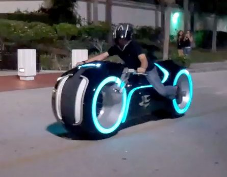 The Tron Lightcycle Is A Buzzer