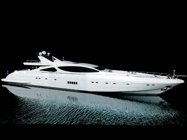 Why Are Yachts So Hot The Mangusta 165 Still World S Largest