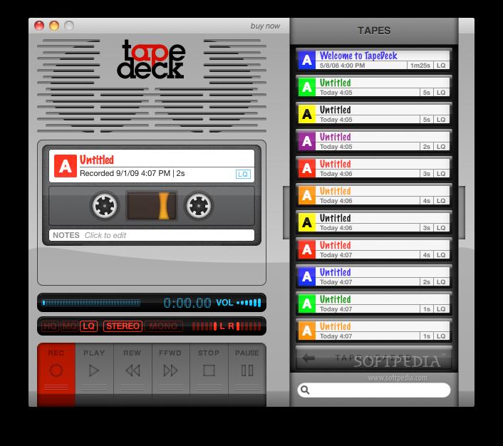 Audio recorder for mac