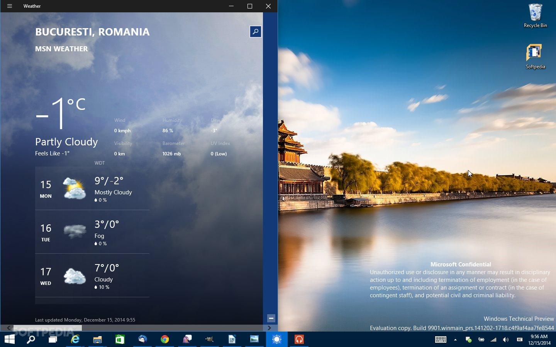 taskbar transparency gone for good in windows 10 build 9901