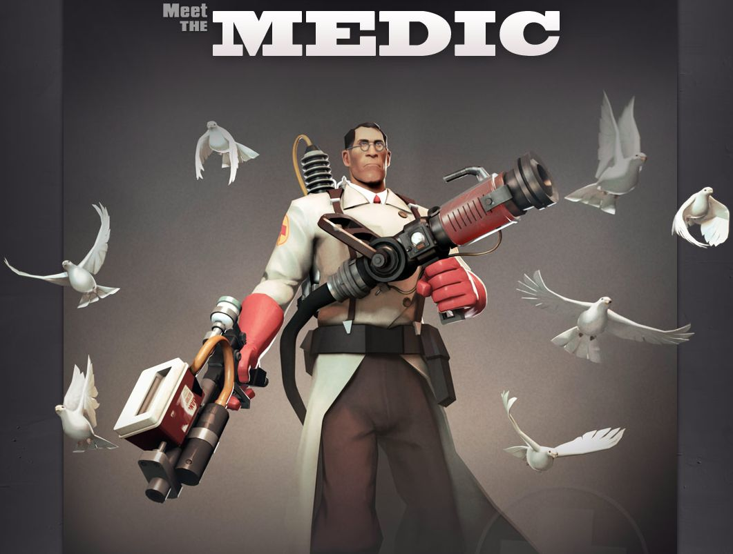 Team Fortress 2 Goes Free-to-Play, Gets Meet the Medic Video