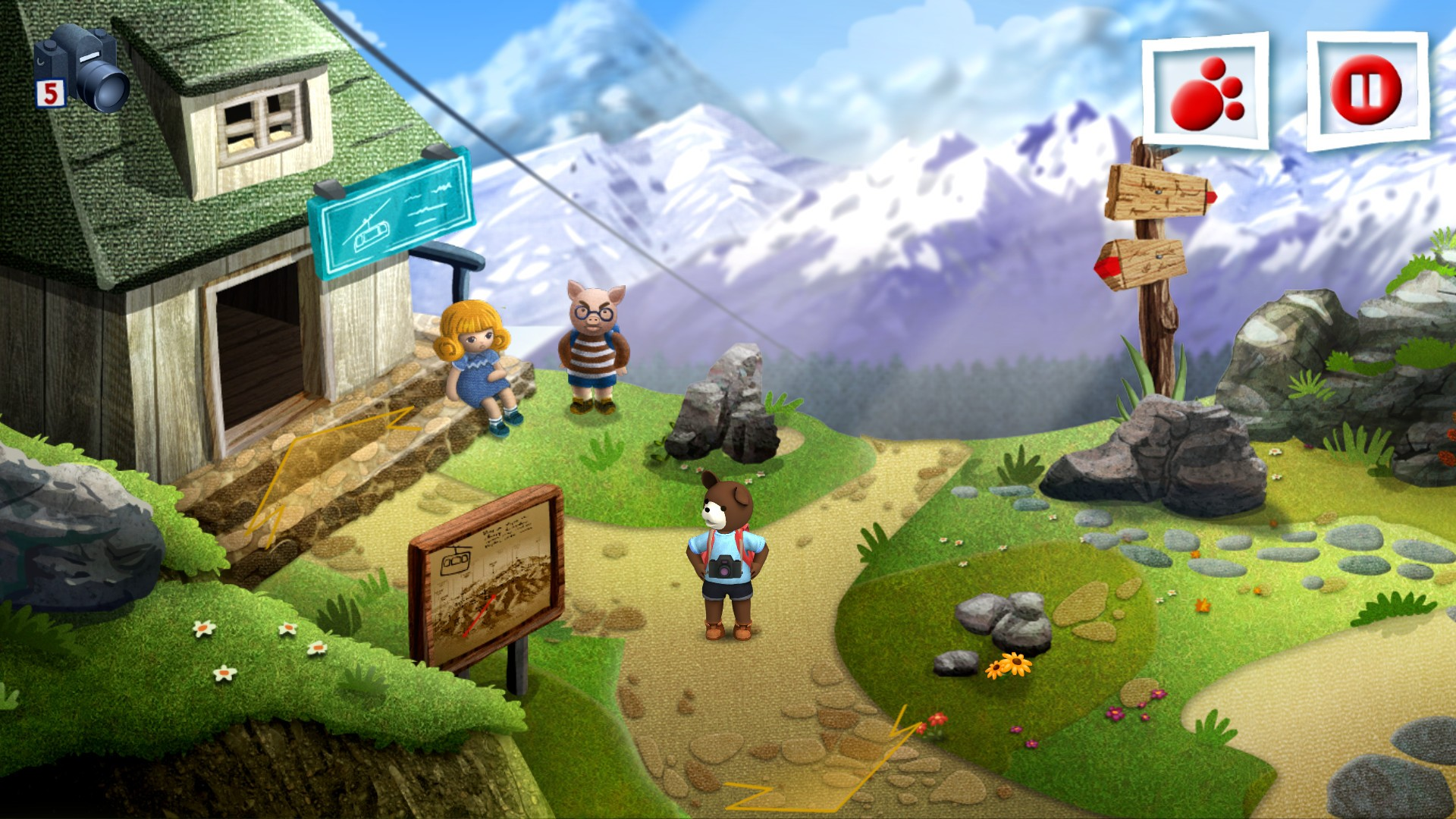 Teddy Floppy Ear Mountain Adventure Is A Linux Games For