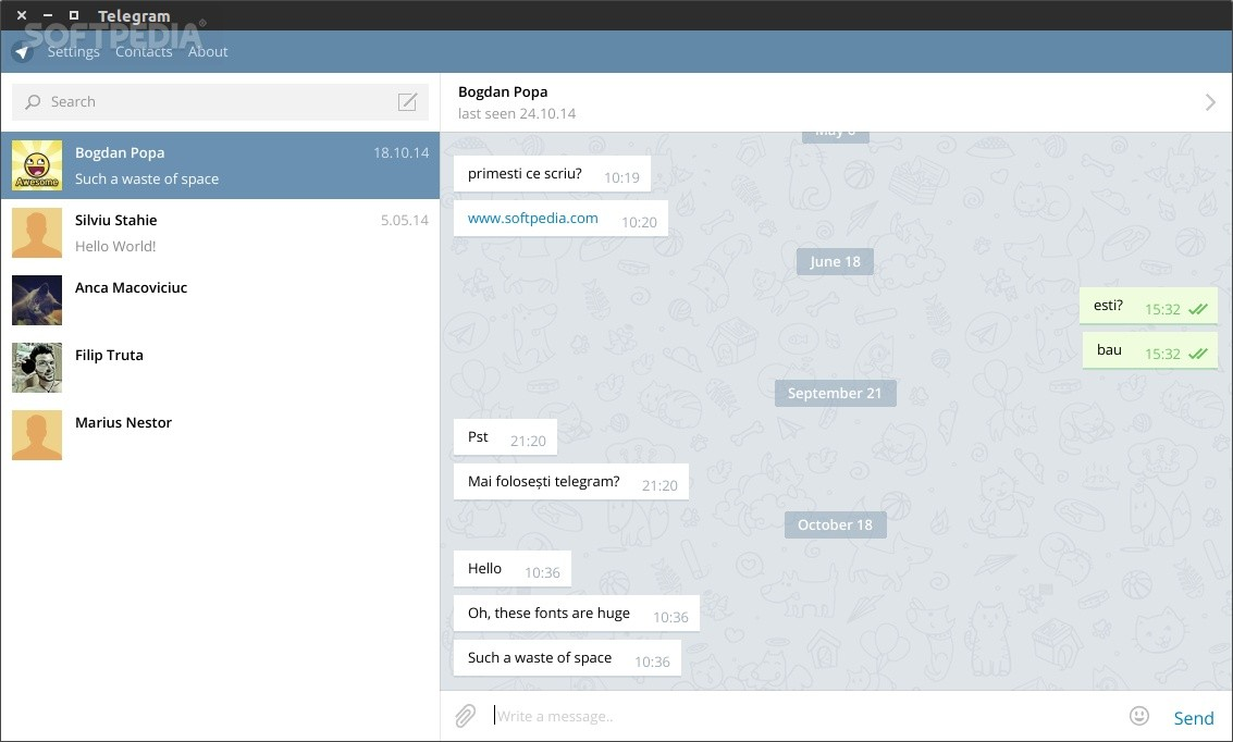 telegram osx 10 10 5