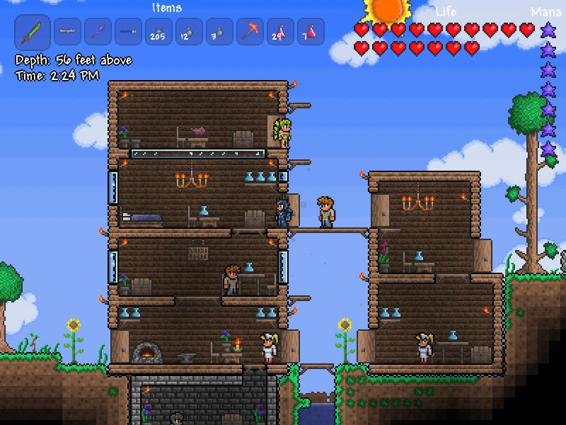 Terraria Christmas.Terraria Update Brings Christmas Goodies And A Bunch Of