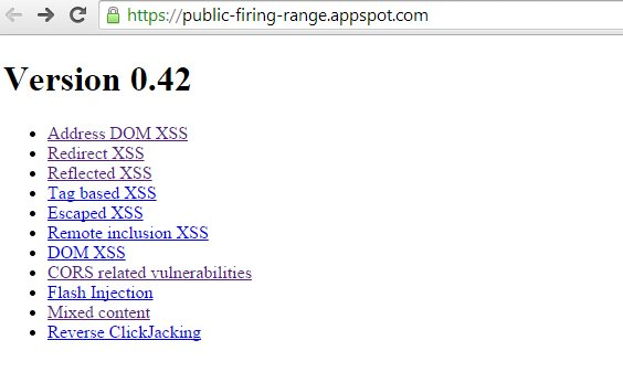 Test Tool for Web App Security Scanners Released by Google