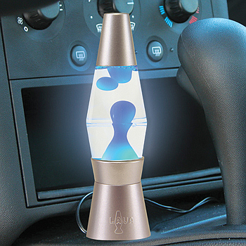 The Pointless Auto Lava Lamp, A Hippie Accessory For Your Car