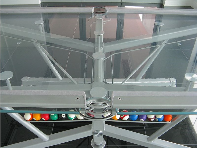 Amazing The Glass Pool Table To See What Billiards Was About Interior Design Ideas Ghosoteloinfo