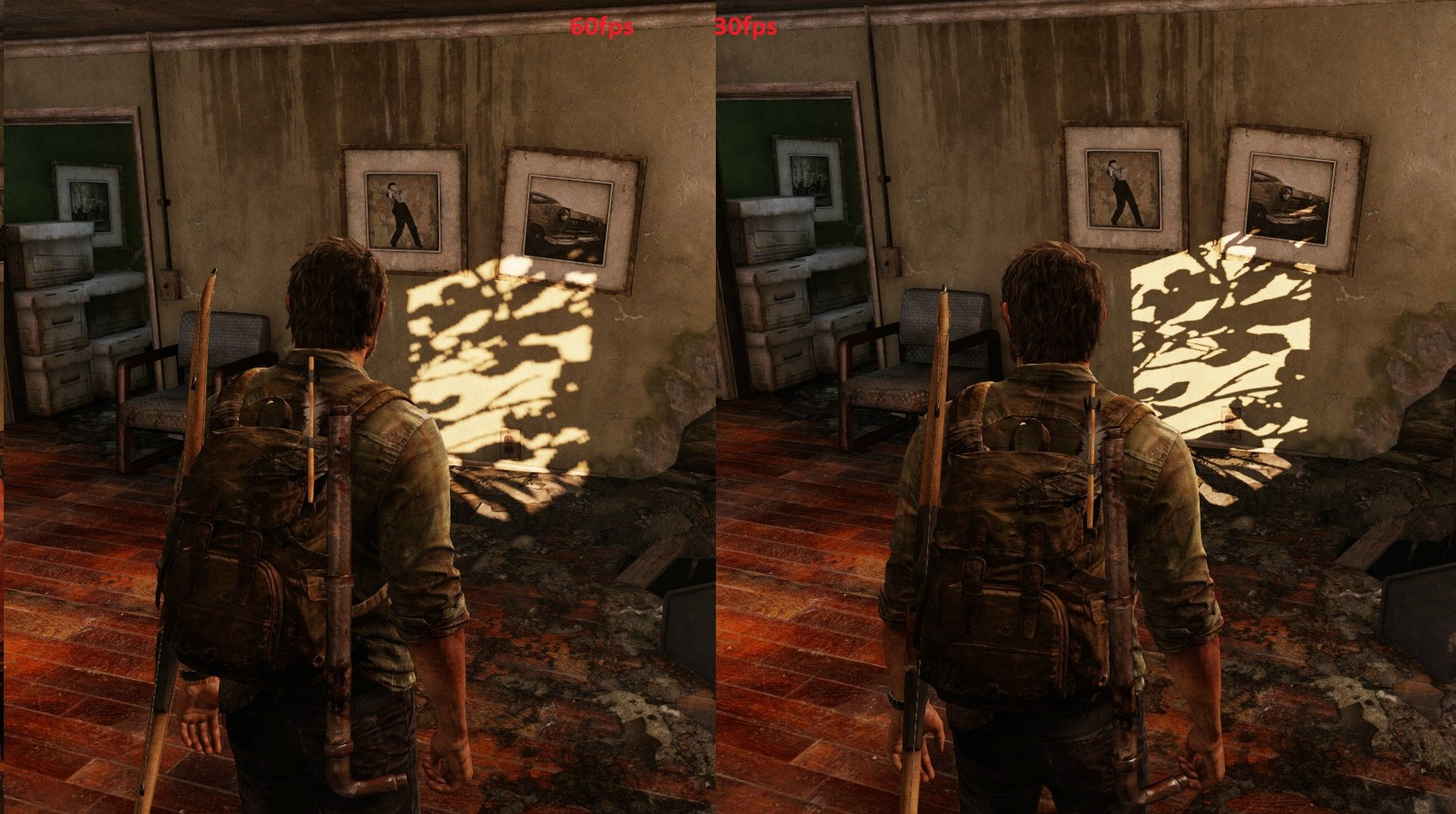 The Last of Us Remastered PS4 Gets 30fps vs  60fps Screenshot Shadow