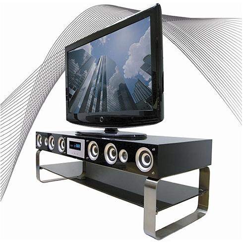 The Onei Solutions Speaker Tv Stand Looks Great Has Good Price