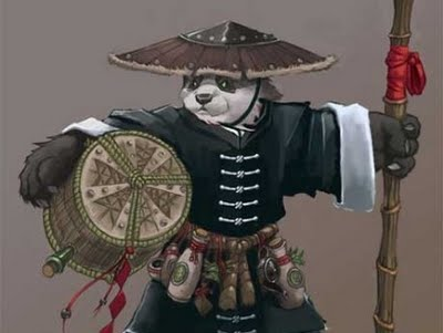 The Pandaren Monk Sold Out