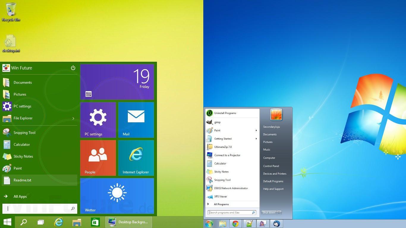 Windows  Home Premium Desktop Won