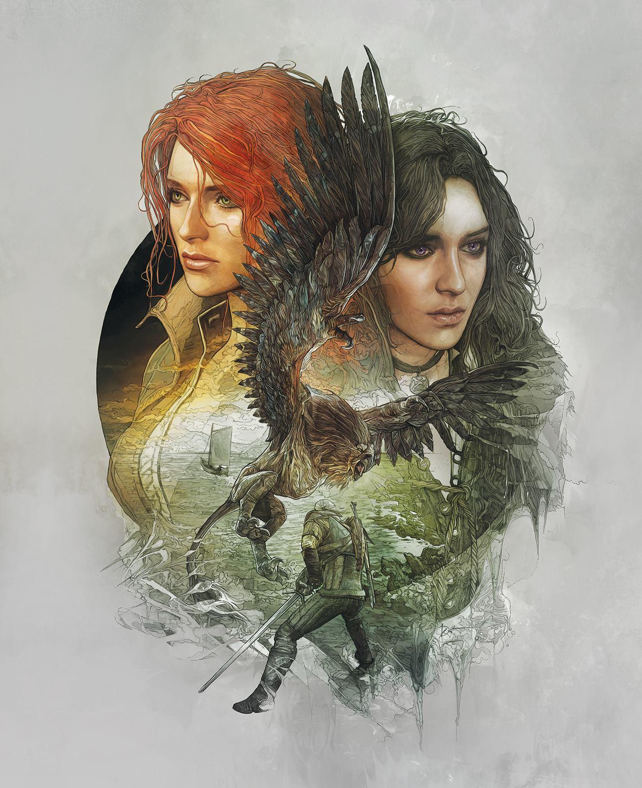 The Witcher 3 Wild Hunt Gets Stellar Character Artwork