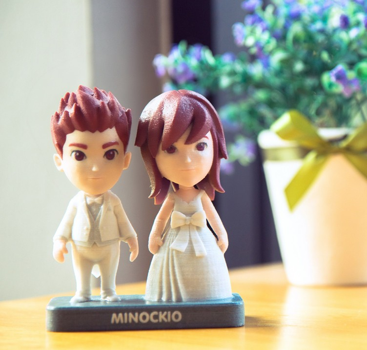 These 3D Printed Figurines Are Based on You, Unless You
