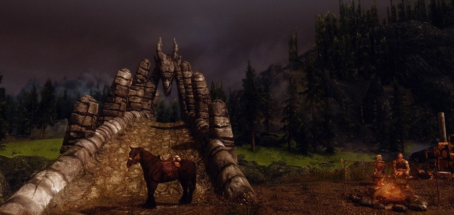 This Is How The Elder Scrolls V: Skyrim Could Look on PS4 or