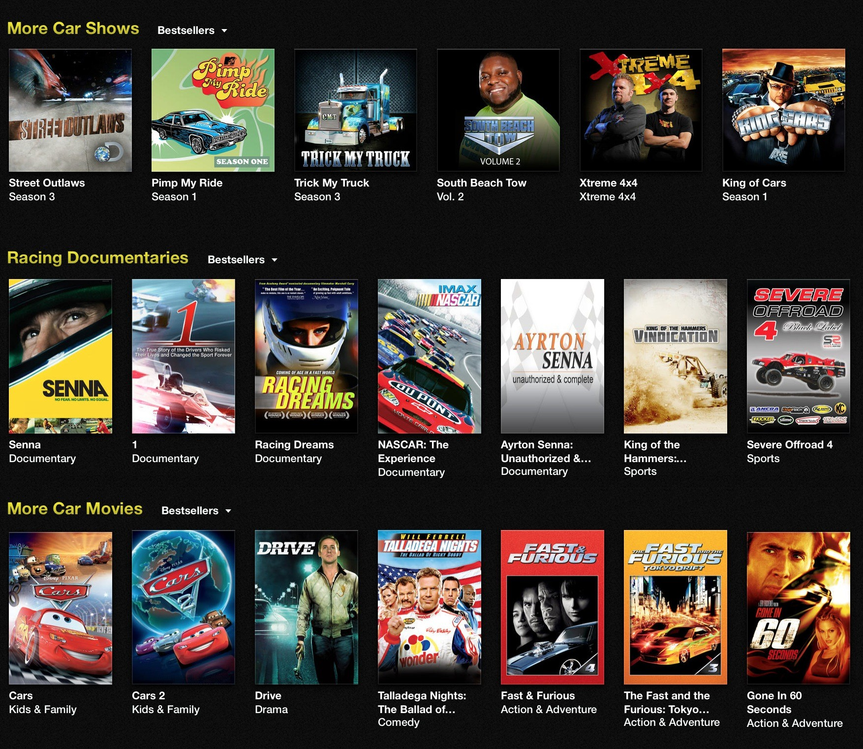 best car tv shows	  This Is the Best Selection of Car-Related Shows in iTunes