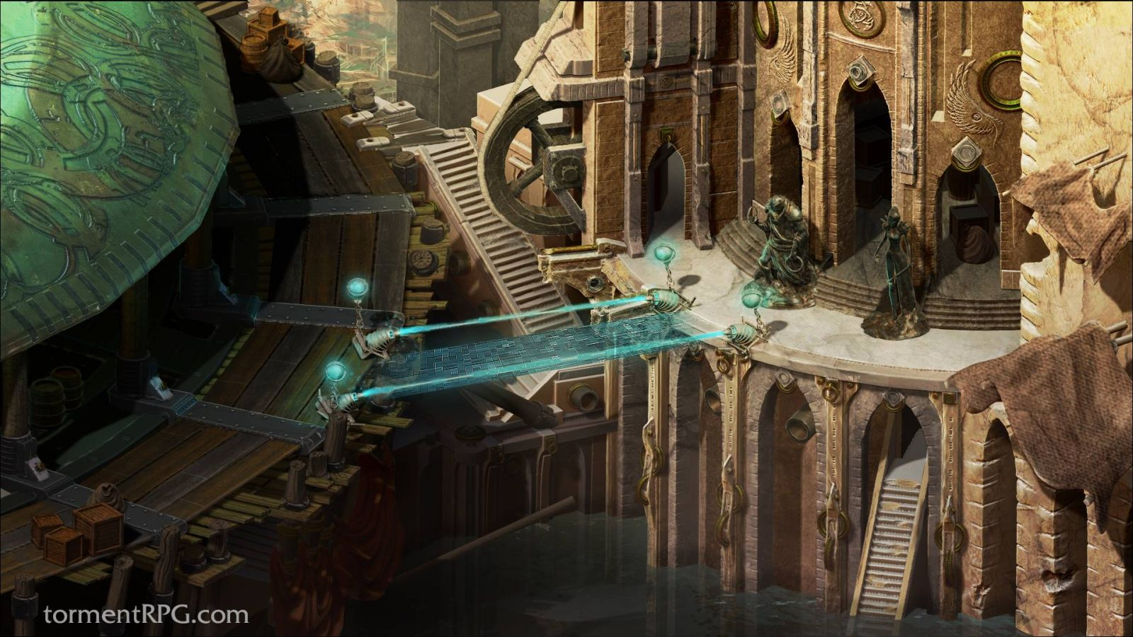 tides of numenera world map Torment Tides Of Numenera Reveals World Map Stronghold Information