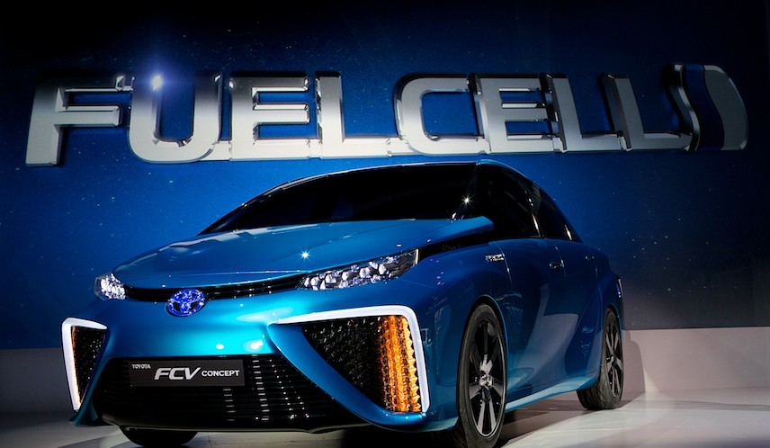 Toyota Is Getting Ready To Launch A New Fuel Cell Vehicle