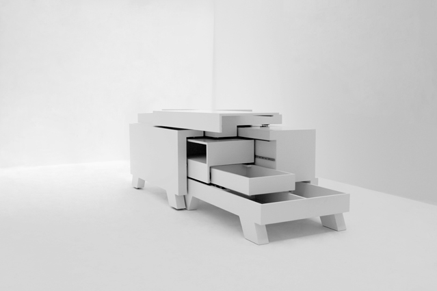 The Transformer Shelves, A Breathtaking Approach To Interactive Furniture