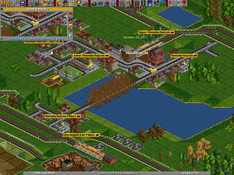 Transport Tycoon Deluxe Clone, OpenTTD 1.3.0 Beta 1, Gets an Improved Interface