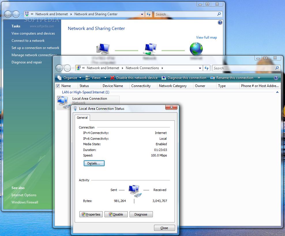 troubleshoot and resolve windows vista network problems rh news softpedia com Windows XP Windows 98