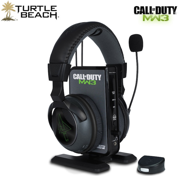 Turtle Beach Intros Cod Modern Warfare 3 Branded Headset Series