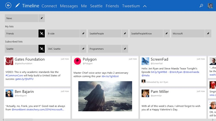 Tweetium 2.1 for Windows 8.1 Released for Download
