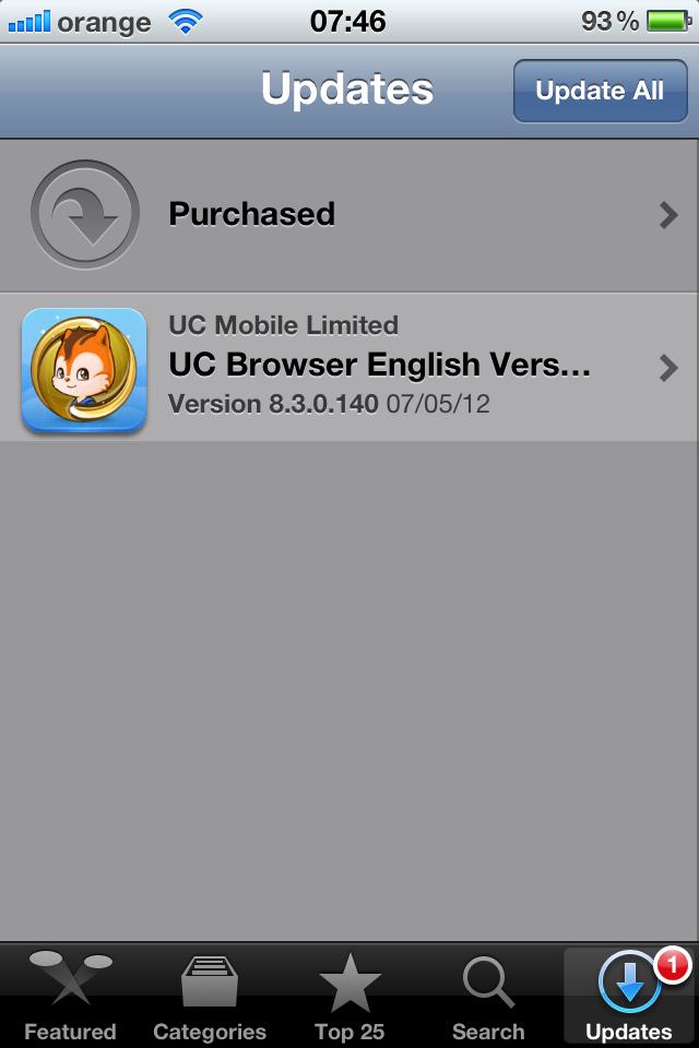 Tech meter: official uc browser cloud 8. 3. 1 handler ui released.