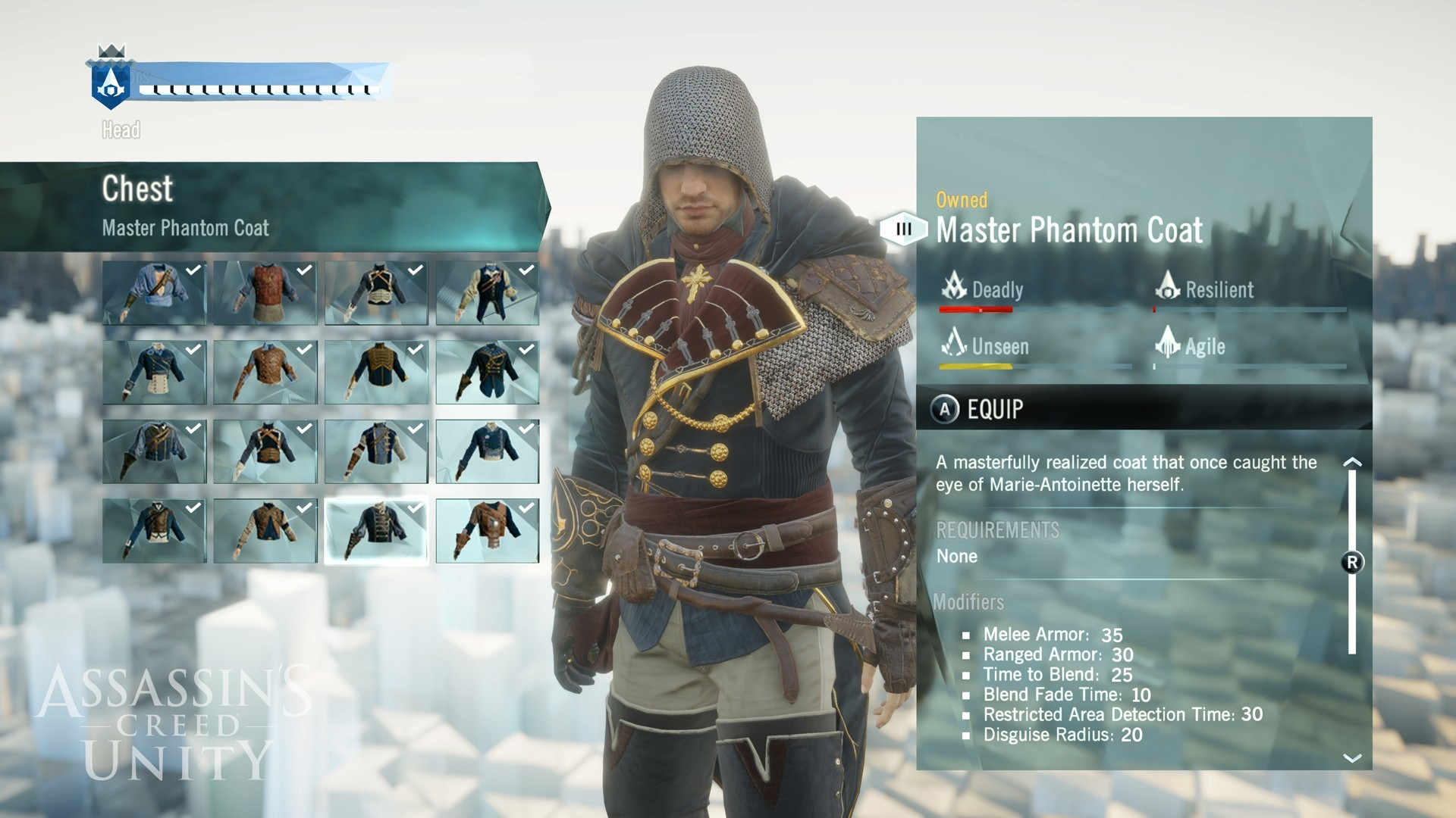 Assassin's creed: unity: сохранение/savegame (игра пройдена на 72.