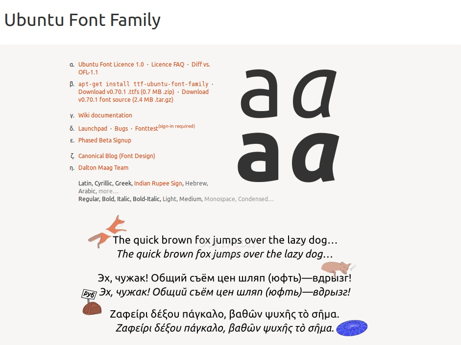 Ubuntu Font Family Is Now Available Worldwide