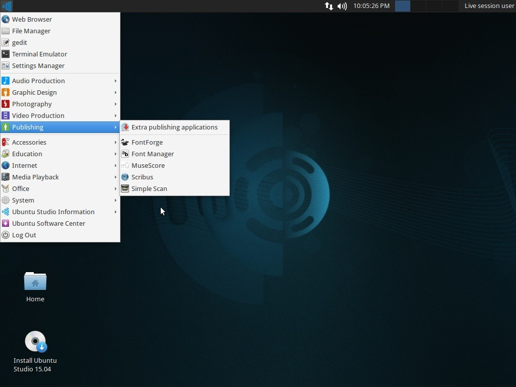 Ubuntu Studio 15 04 Out Now with Xfce 4 12 and Low-Latency Linux