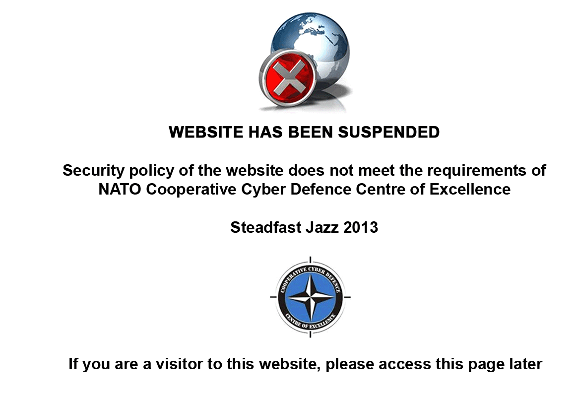 Ukrainian Government Websites Aly Hacked By Nato