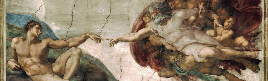 Michelangelo Hand Painting Meaning
