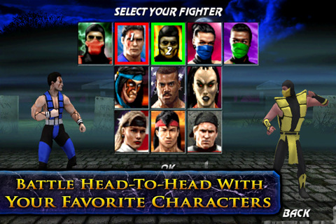Ultimate Mortal Kombat 3 Released for iPhone, iPad