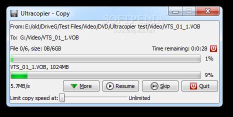 Ultracopier for Windows