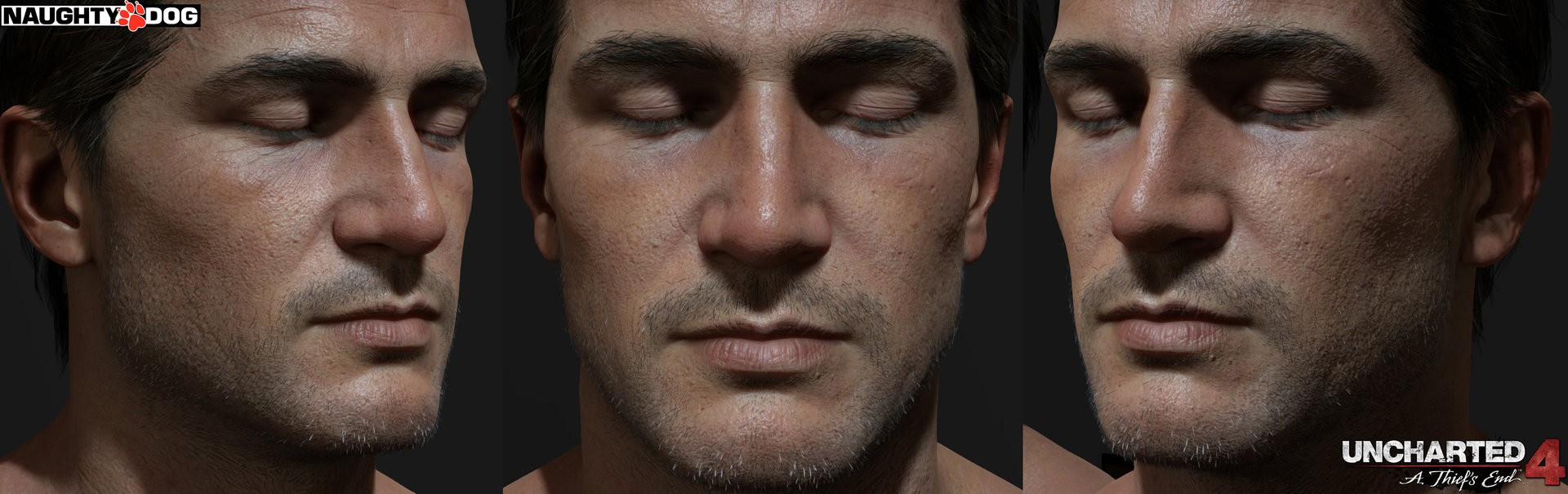 Uncharted 4 Nathan Drake Character Model Gets Gorgeous Hi