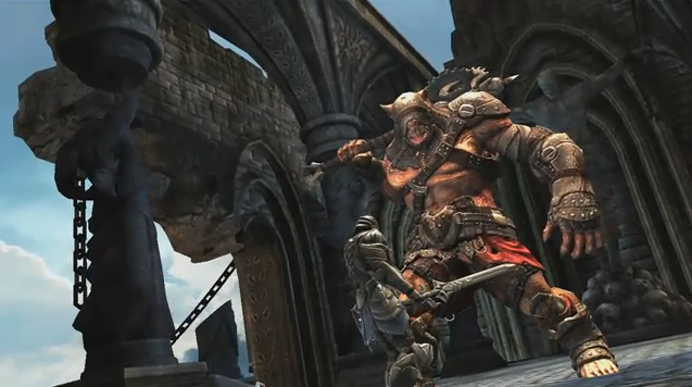 Unreal Engine 3-Powered 'Infinity Blade' for iOS Arrives