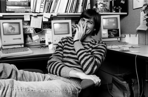 Unseen Photos Of Steve Jobs From 1984