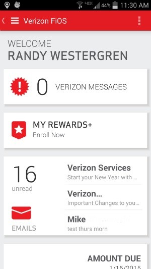 Verizon's My FiOS for Android Allowed Complete Access to